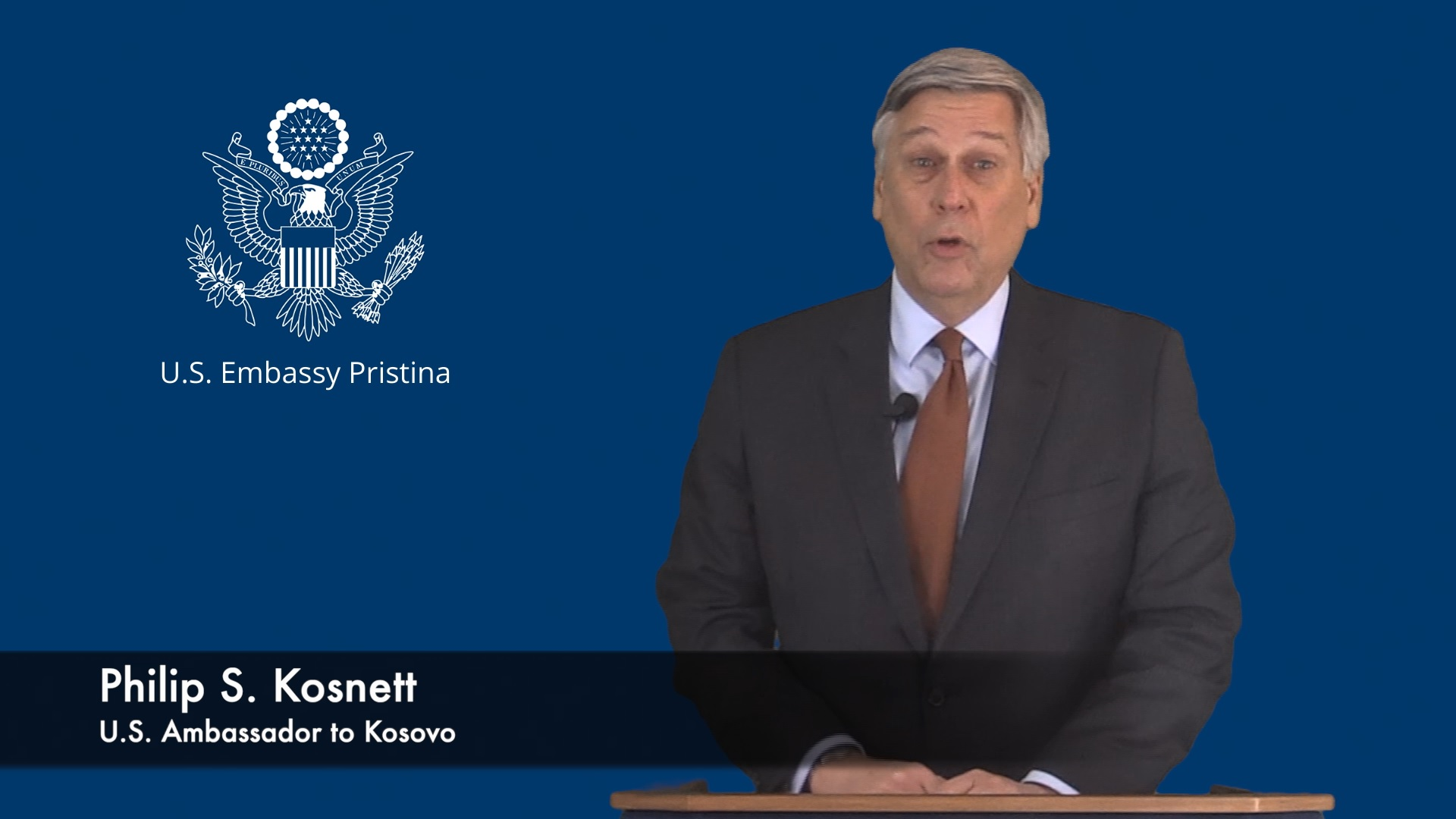 Fjalimi i Ambasadorit të SHBA-së në Kosovë, Philip Kosnett, me rastin e mbajtjes së Konferencës Vjetore të Prokurorëve (VIDEO)