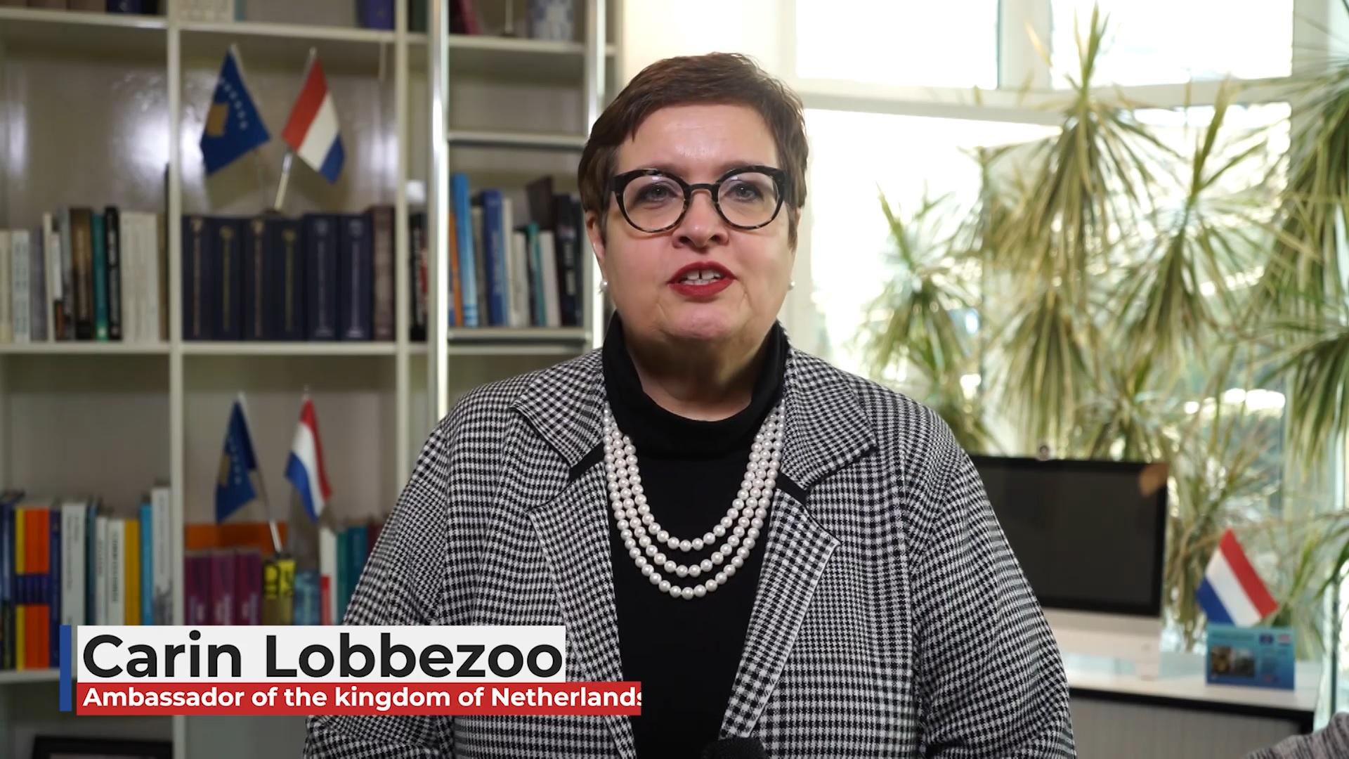 Fjalimi i Ambasadores së Mbretërisë së Holandës në Kosovë, Carin Lobbezoo, me rastin e mbajtjes së Konferencës Vjetore të Prokurorëve (VIDEO)