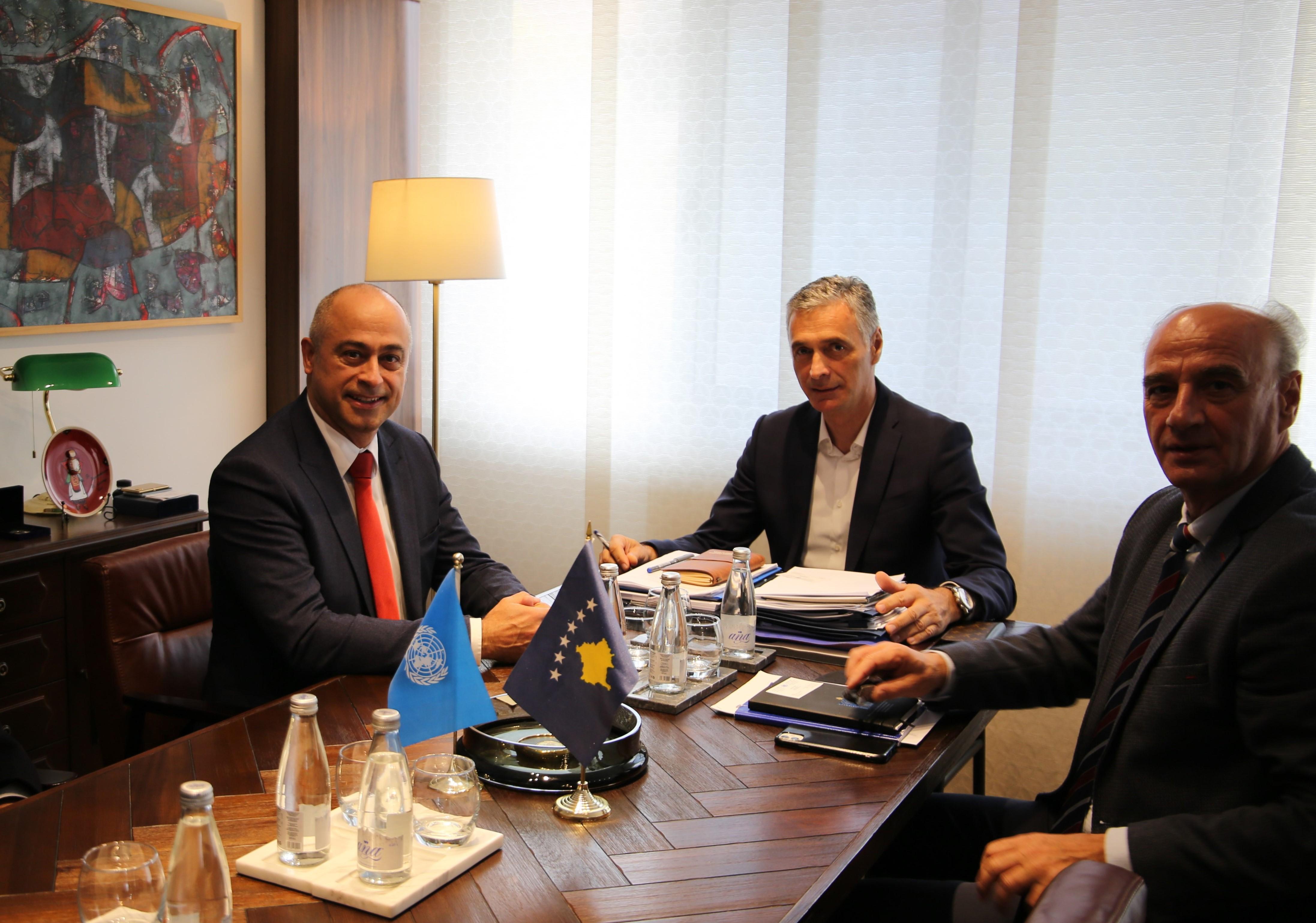 Kryeprokurori i Shtetit dhe Kryesuesi i KPK-së kanë pritur në takim Shefin e Zyrës për Sundim të Ligjit të misionit të Kombëve të Bashkuara në Kosovë UNMIK