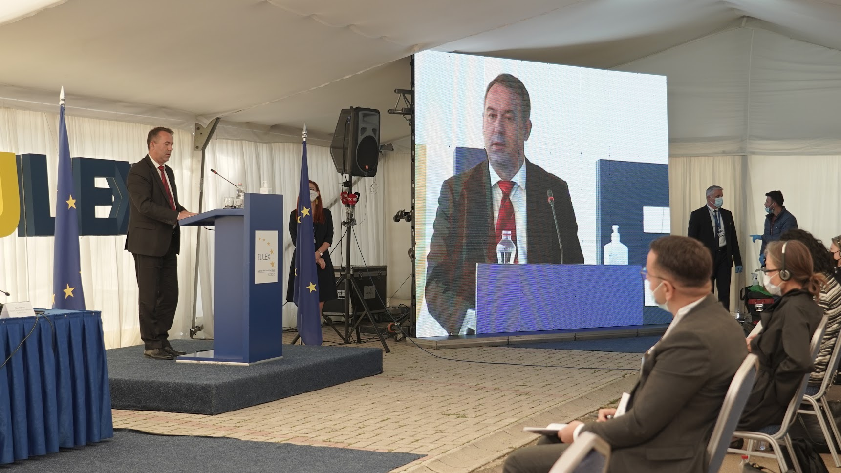 Findings and recommendations to improve Kosovo's justice system: The EU Rule of Law Mission presents its first public Justice Monitoring Report