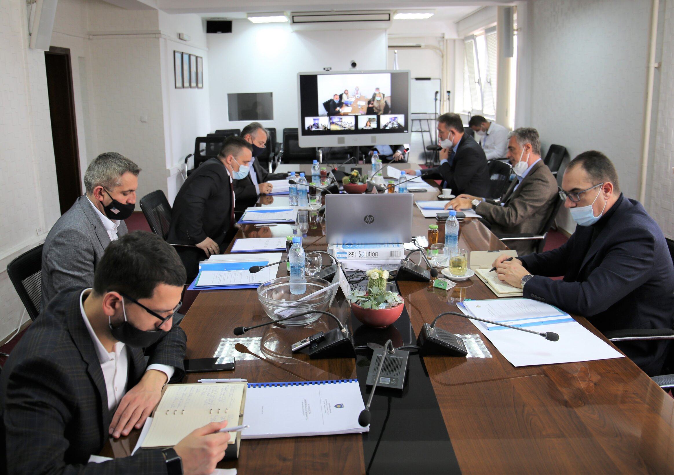 The 189th meeting of the Kosovo Prosecutorial Council is held