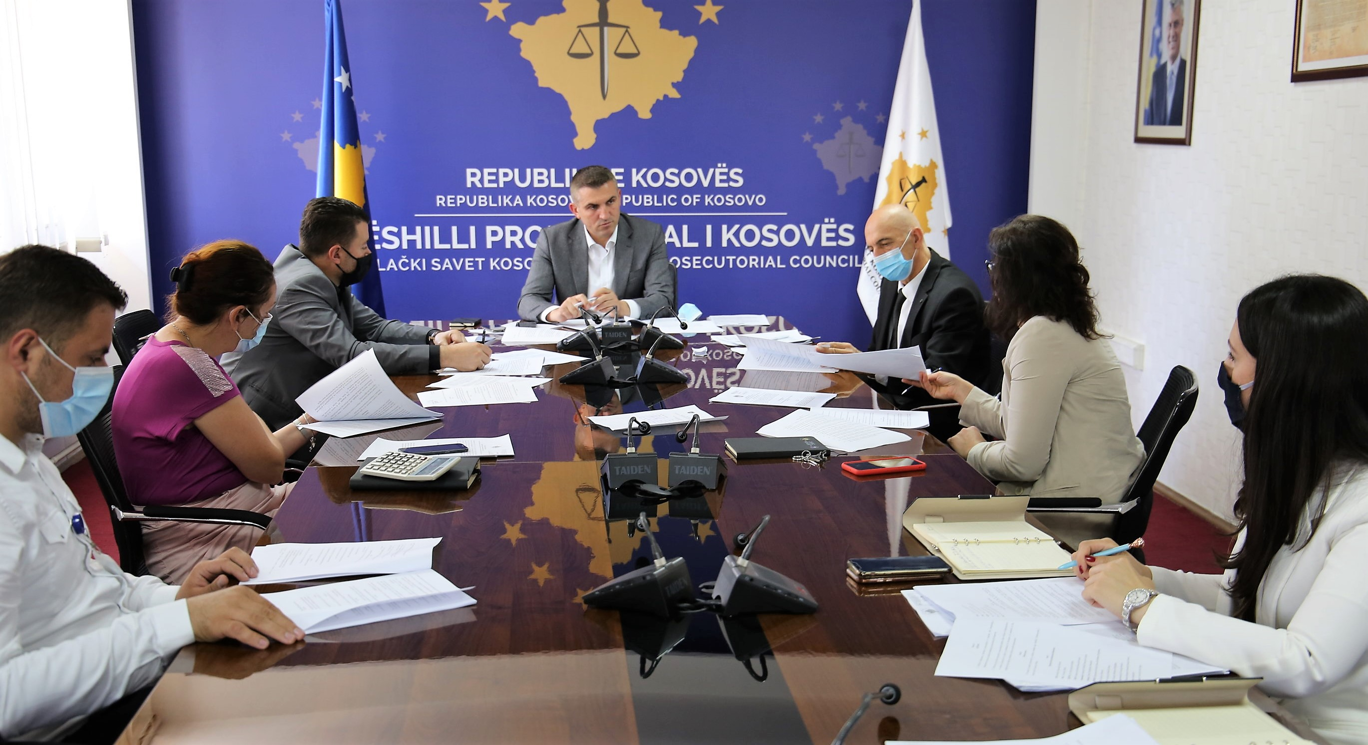 The draft Administrative Instruction for the management of public money expenditure is discussed