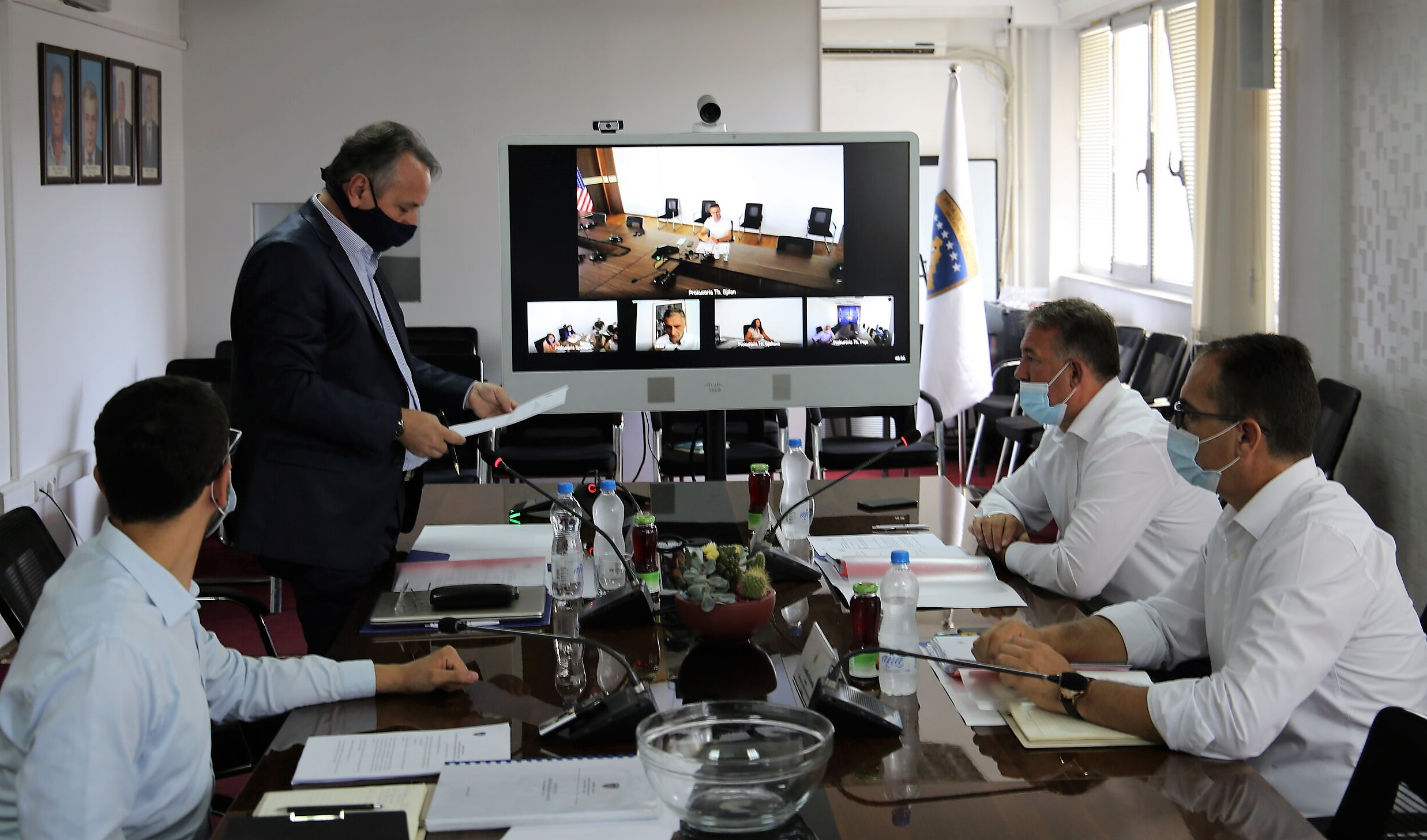 The 184th meeting of the Kosovo Prosecutorial Council is held