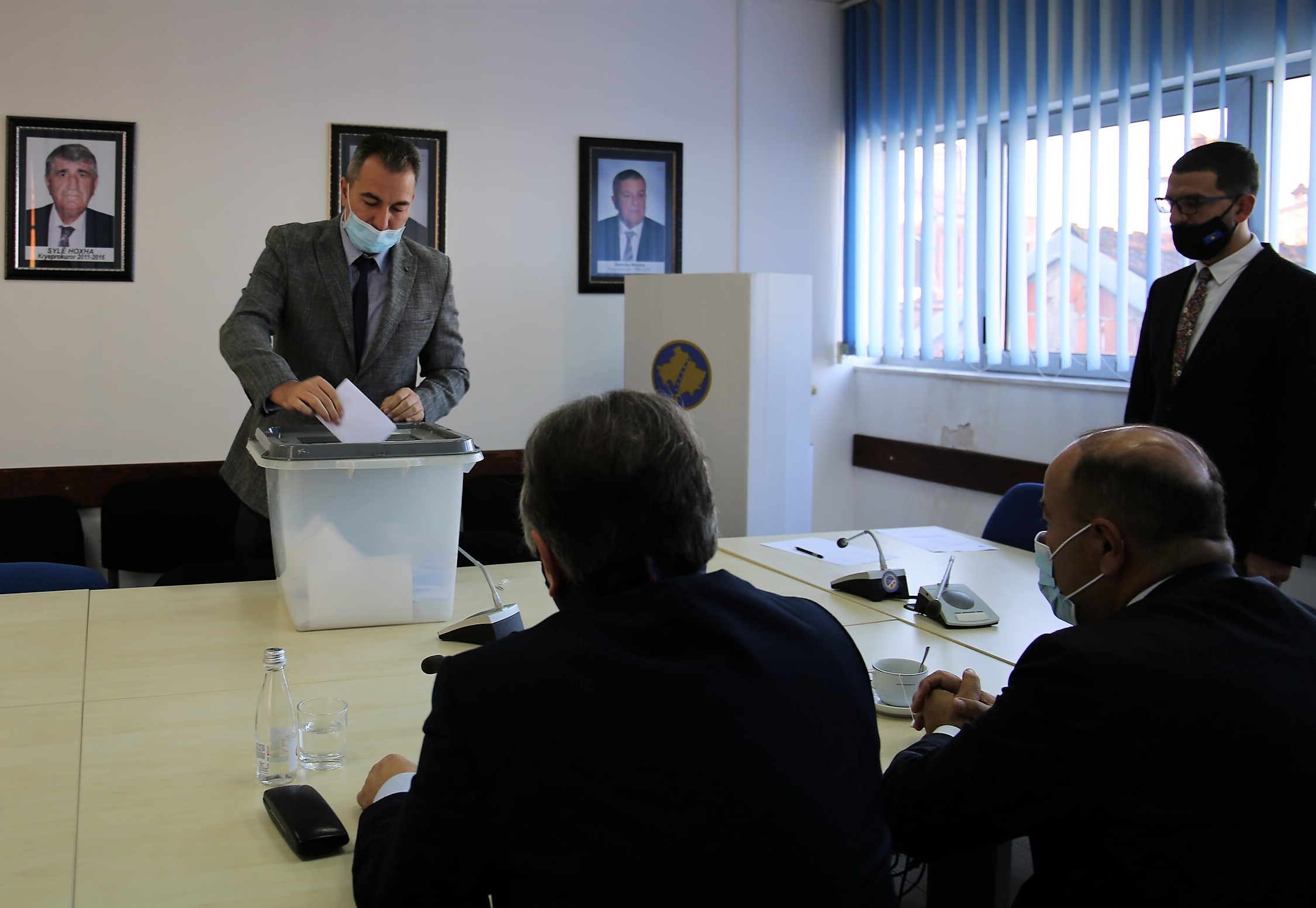 Voting process for the election of KPC members from the ranks of the Basic Prosecution of Prizren and Gjakova takes place