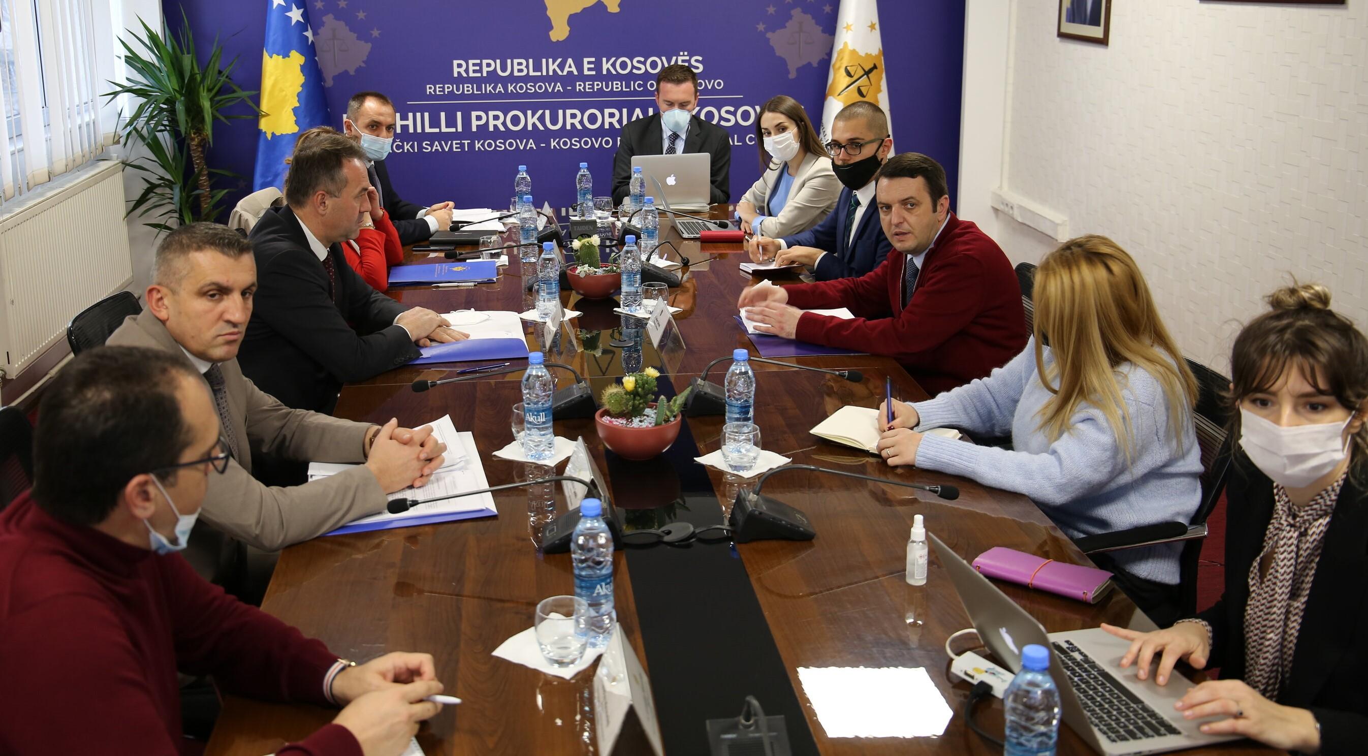 Kryesuesi Hyseni dhe Ministri Selimi diskutuan për procesin e Rishikimit Funksional të Sektorit të Sundimit të Ligjit