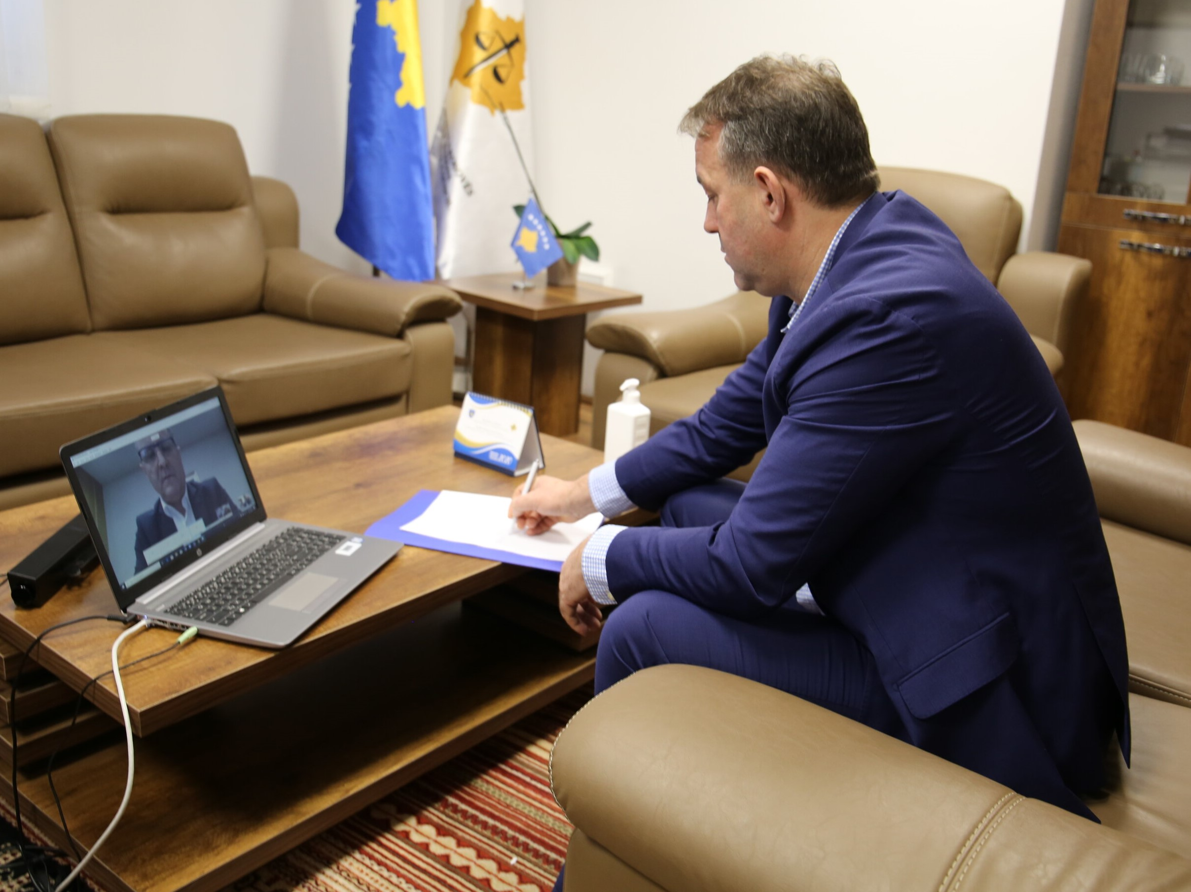 Cooperation with EULEX is appreciated
