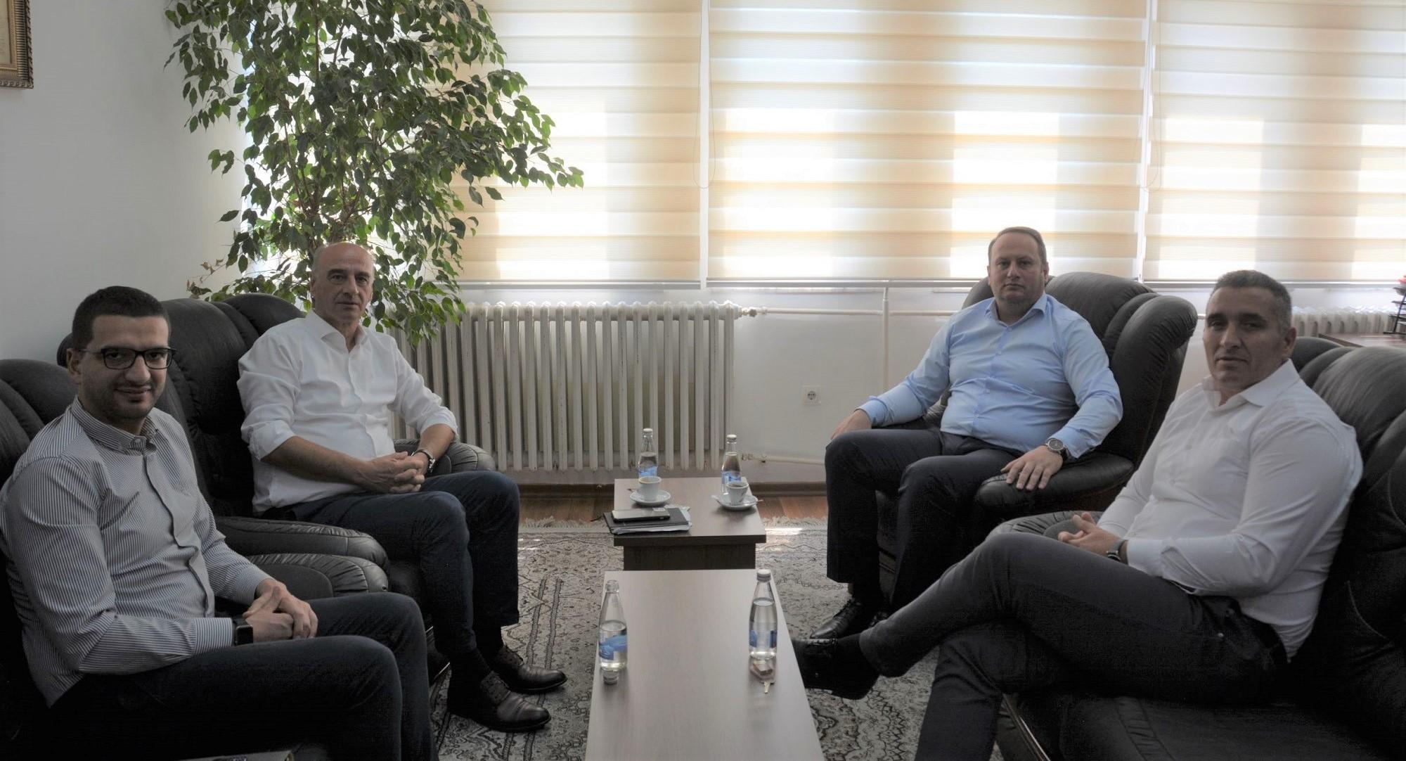 Kryesuesi i KPK-së, Maloku, takoi Kryesuesin e KGJK-së, Zogaj