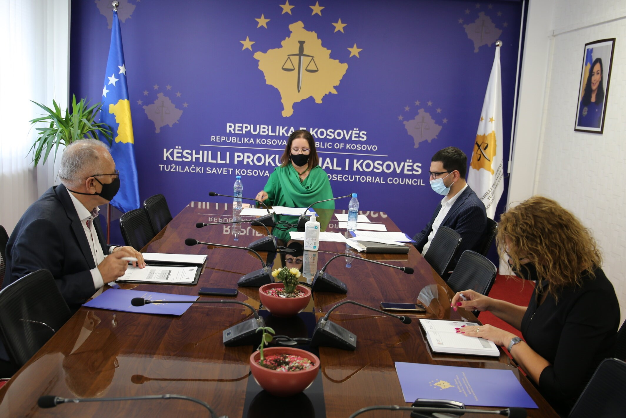 The 6-month work report of the Committee on Budget, Finance and Personnel is reviewed
