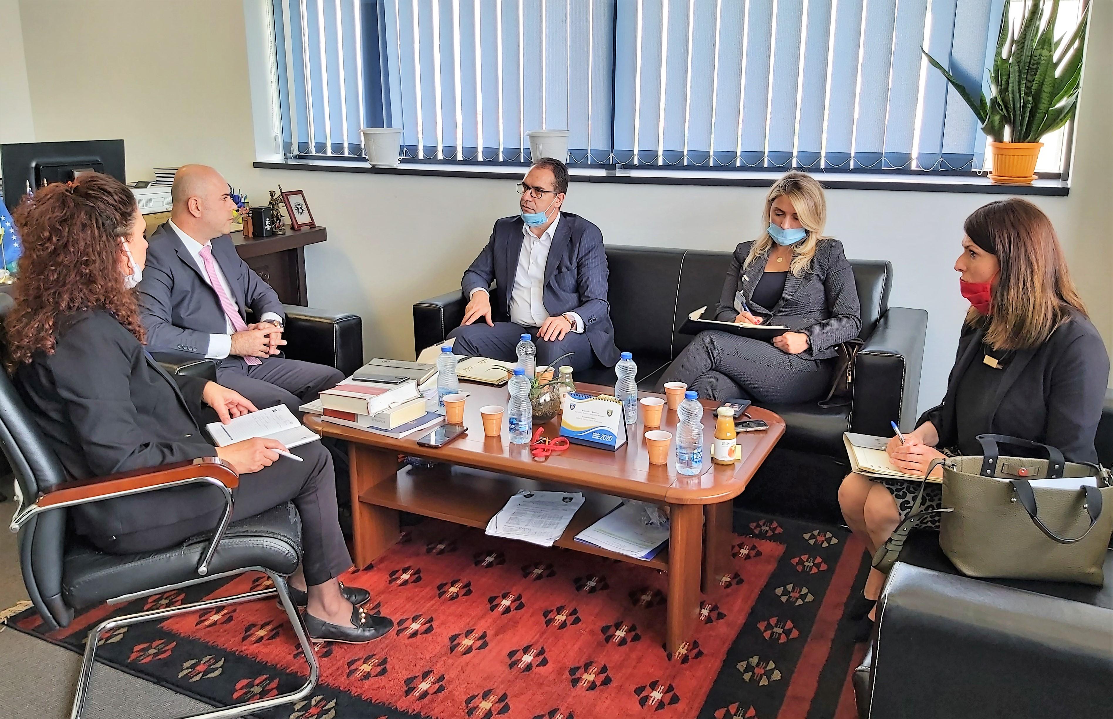 Drejtori Krasniqi ka vizituar Prokurorinë Themelore të Prishtinës