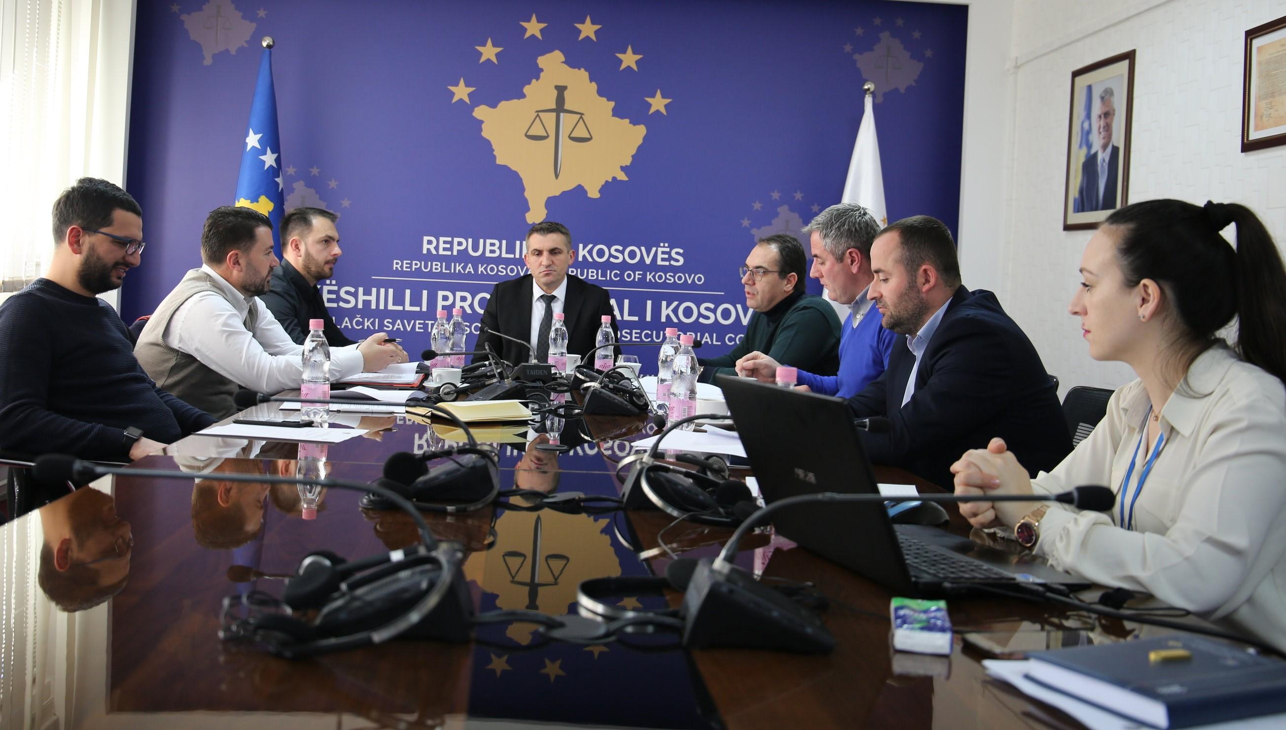 Diskutohet Udhëzuesi për menaxhimin e sigurisë së objekteve të sistemit prokurorial