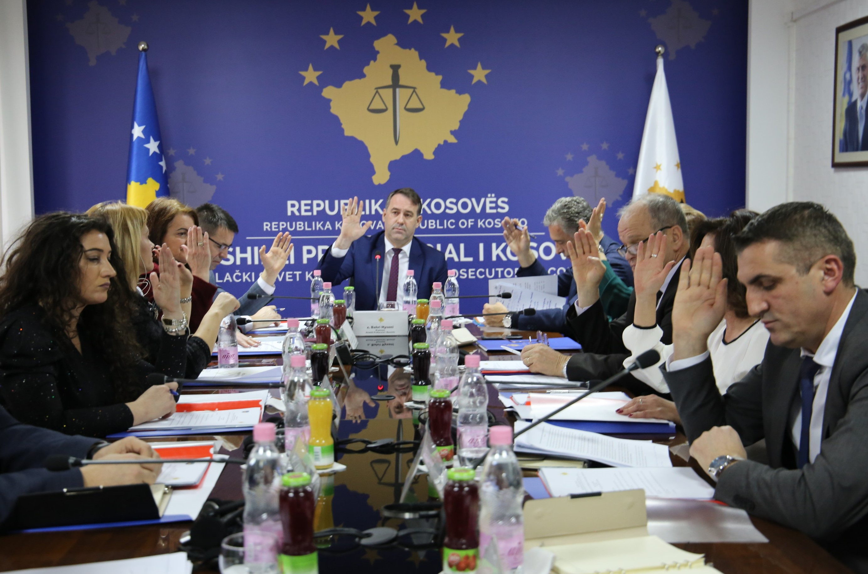 The 176th meeting of the Kosovo Prosecutorial Council is held