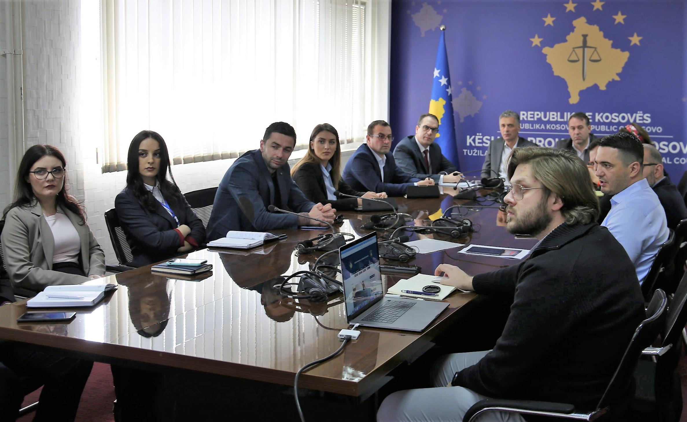 Vazhdon puna në zhvillimin dhe funksionalizimin e uebportalit të sistemit prokurorial