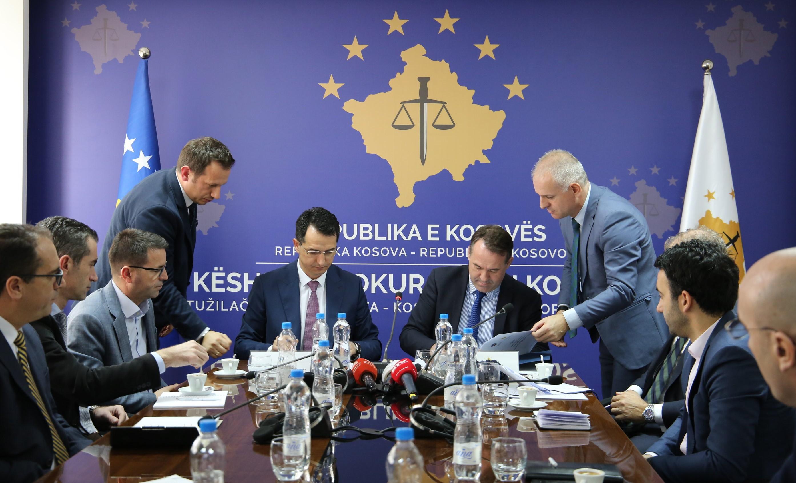 KPK dhe KGJK nënshkruajnë marrëveshje për shkëmbimin e të dhënave në mënyrë elektronike