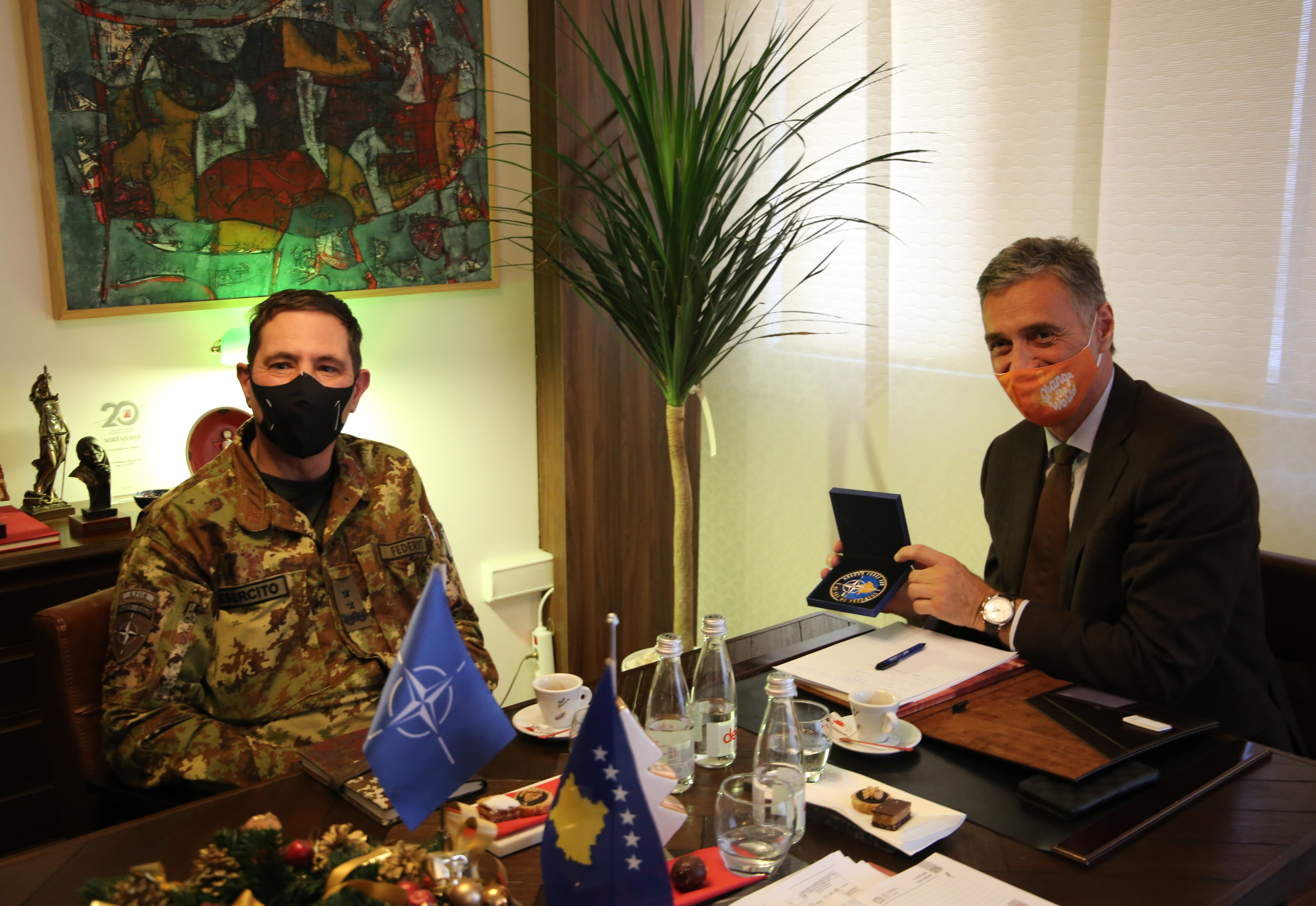 Intensification of cooperation between the State Prosecutor and the KFOR mission in Kosovo is discussed