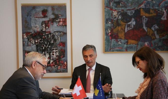 Kryeprokurori Lumezi dhe Ambasadori Lebet diskutojnë për thellimin e bashkëpunimit