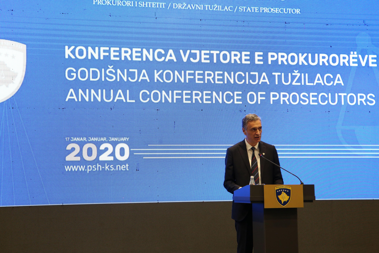 Fjalimi i Kryeprokurorit të Shtetit, Aleksandër Lumezi në Konferencën Vjetore të Prokurorëve të Shtetit
