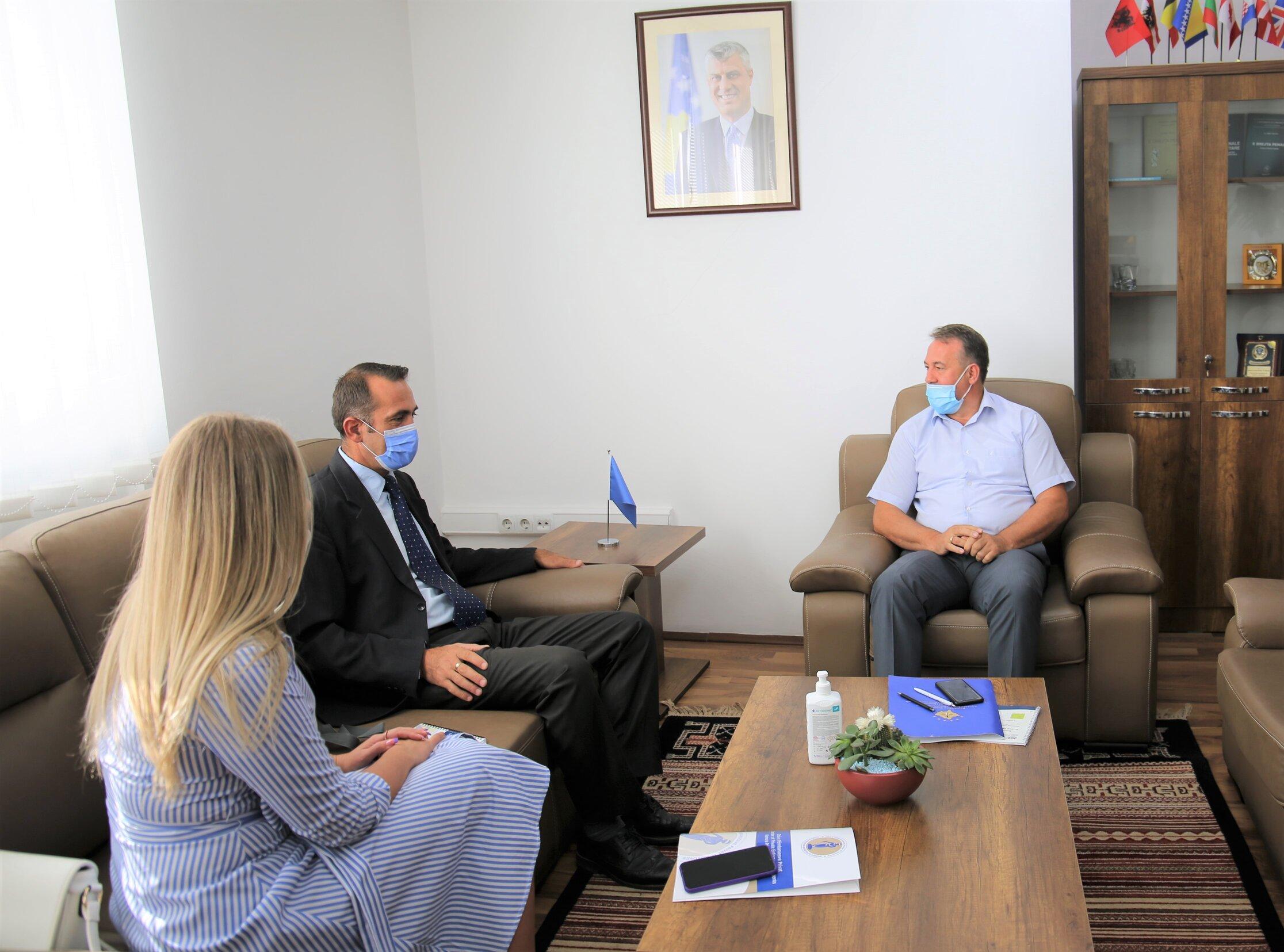 Kryesuesi i KPK-së, Bahri Hyseni, ka takuar kryetarin e OPK-së, Arben Gashi