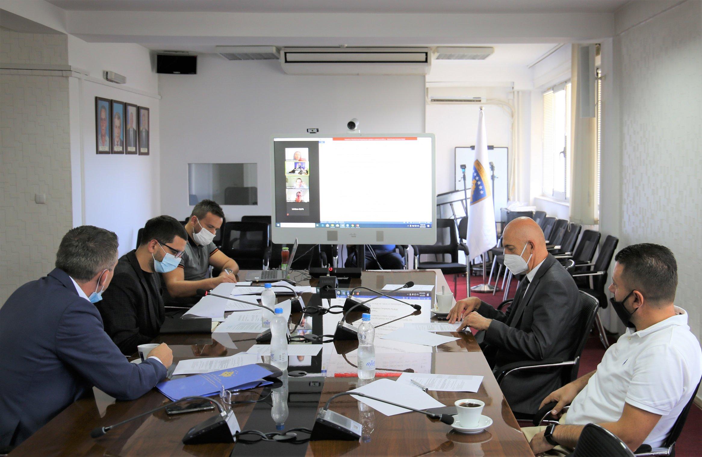 Razmatran je nacrt Uredbe o izboru članova tužioca TSK-a