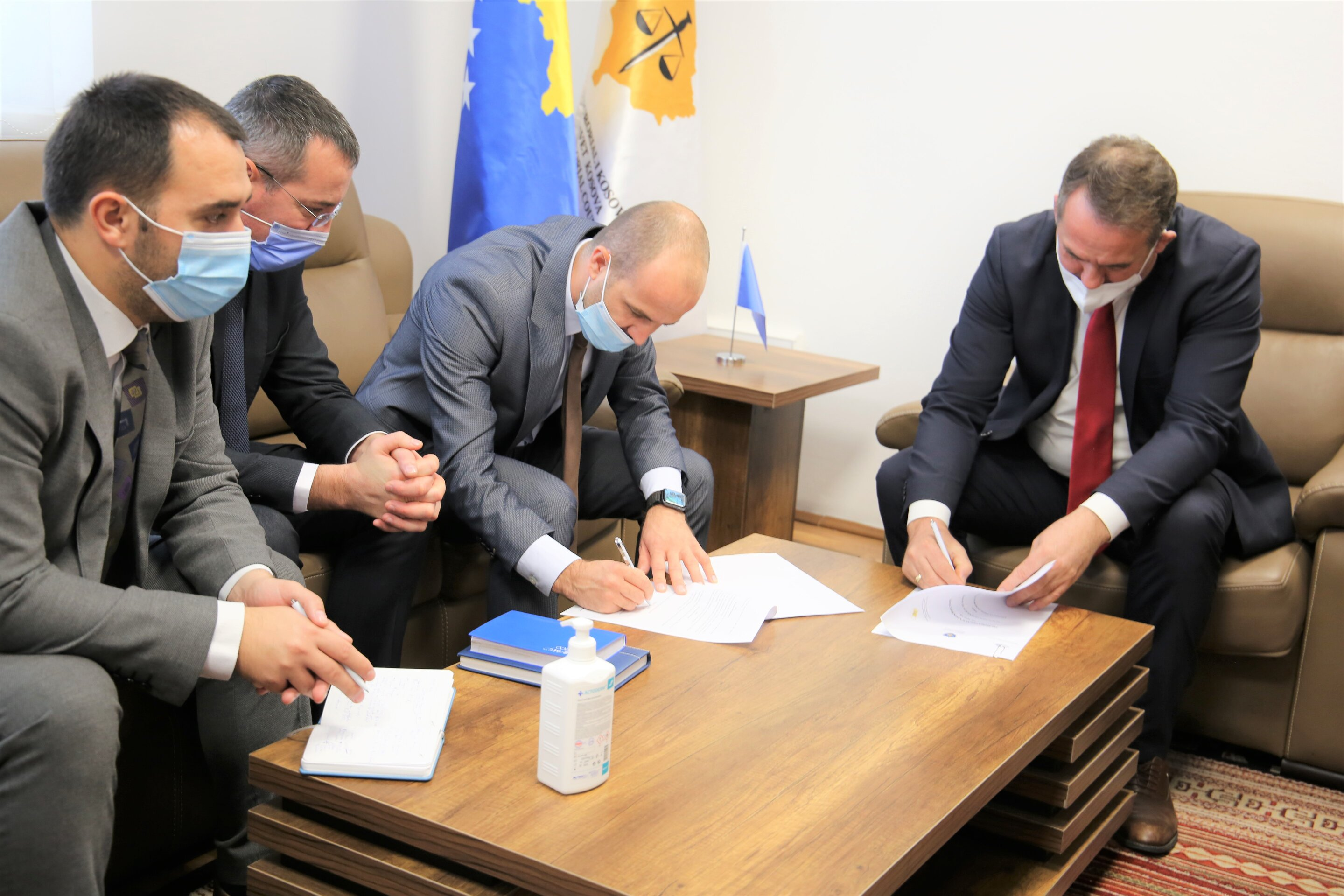 A memorandum of cooperation is signed between KPC and KCA