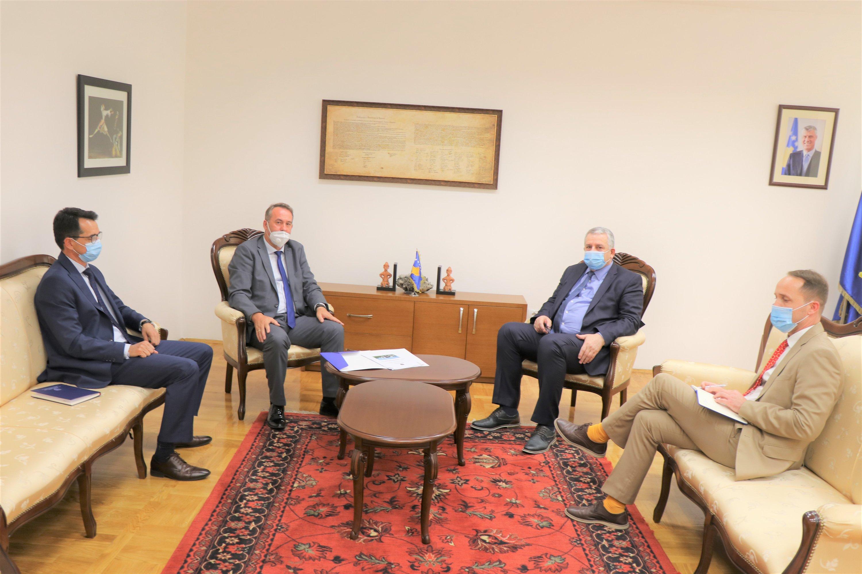 Predsedavajući Tužilačkog saveta Kosova primljen je na sastanku od strane ministra unutrašnjih poslova