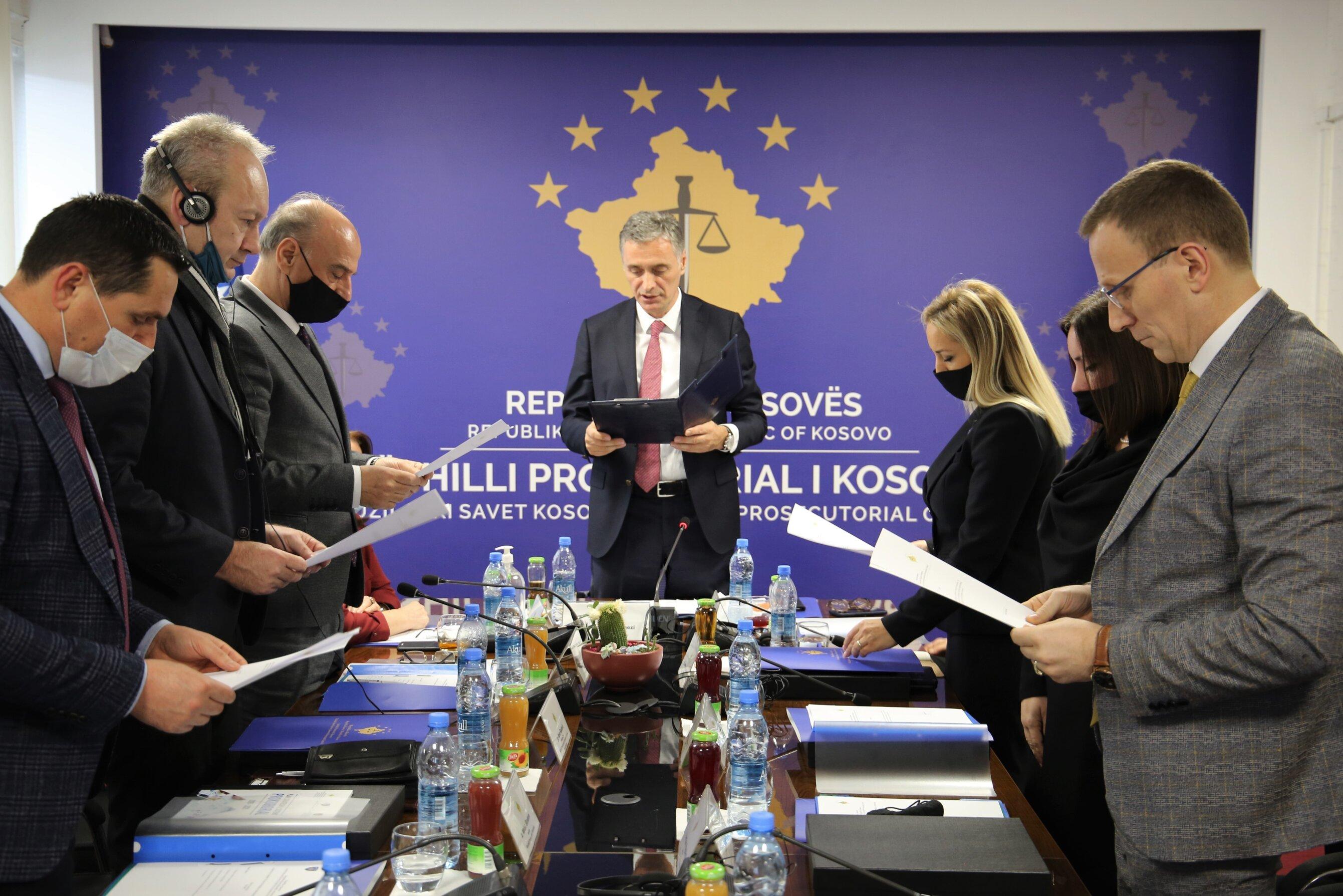 Betohen anëtaret e rinj të Këshillit Prokurorial të Kosovës