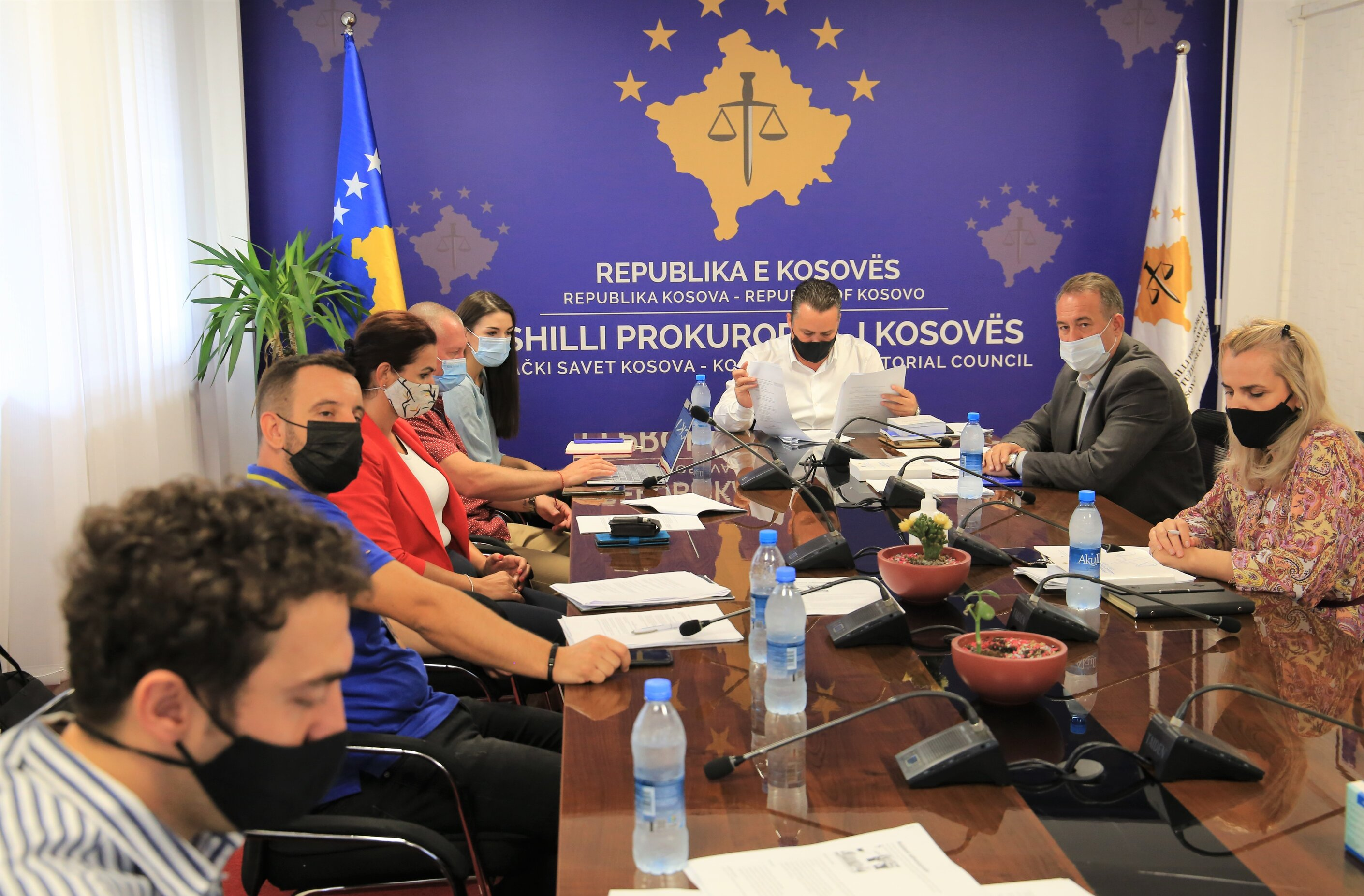 The draft Regulation on the transfer and promotion of prosecutors is finalized