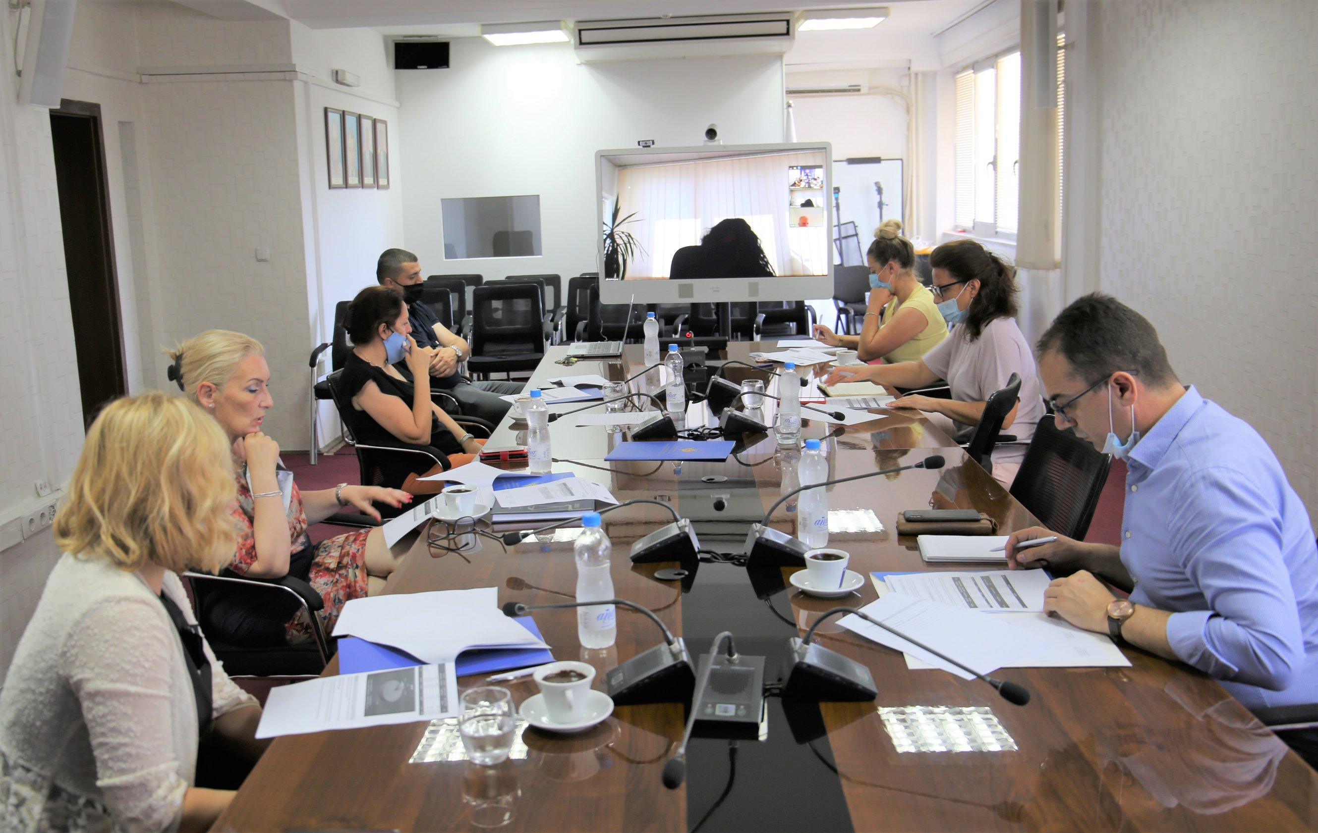 Šestomesečni finansijski izveštaj, tema dikuskusije Komisije za Budžet, Finansije i Osoblje TSK-a