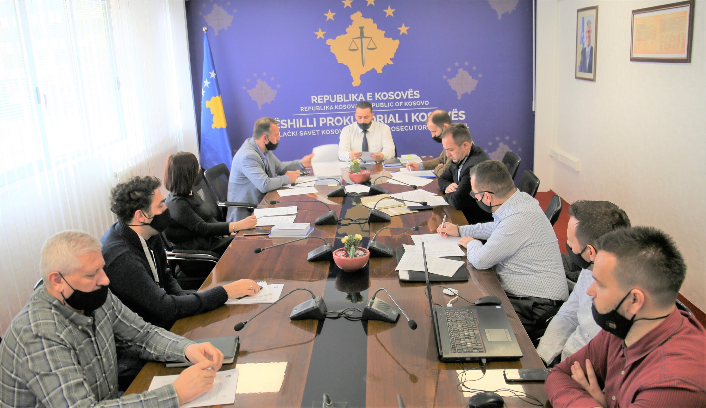 The draft Regulation on Personal Files of the State Prosecutor is presented