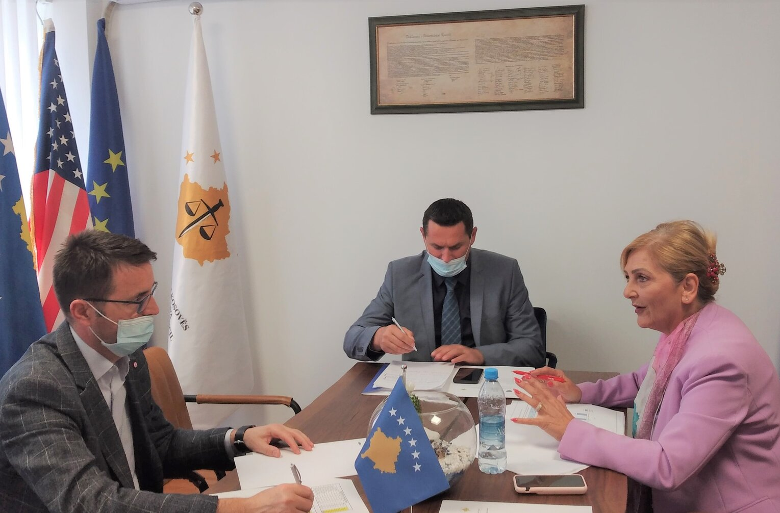 Meeting of the Working Group for the Supervision of the Unit for Combating Corruption and Economic Crimes