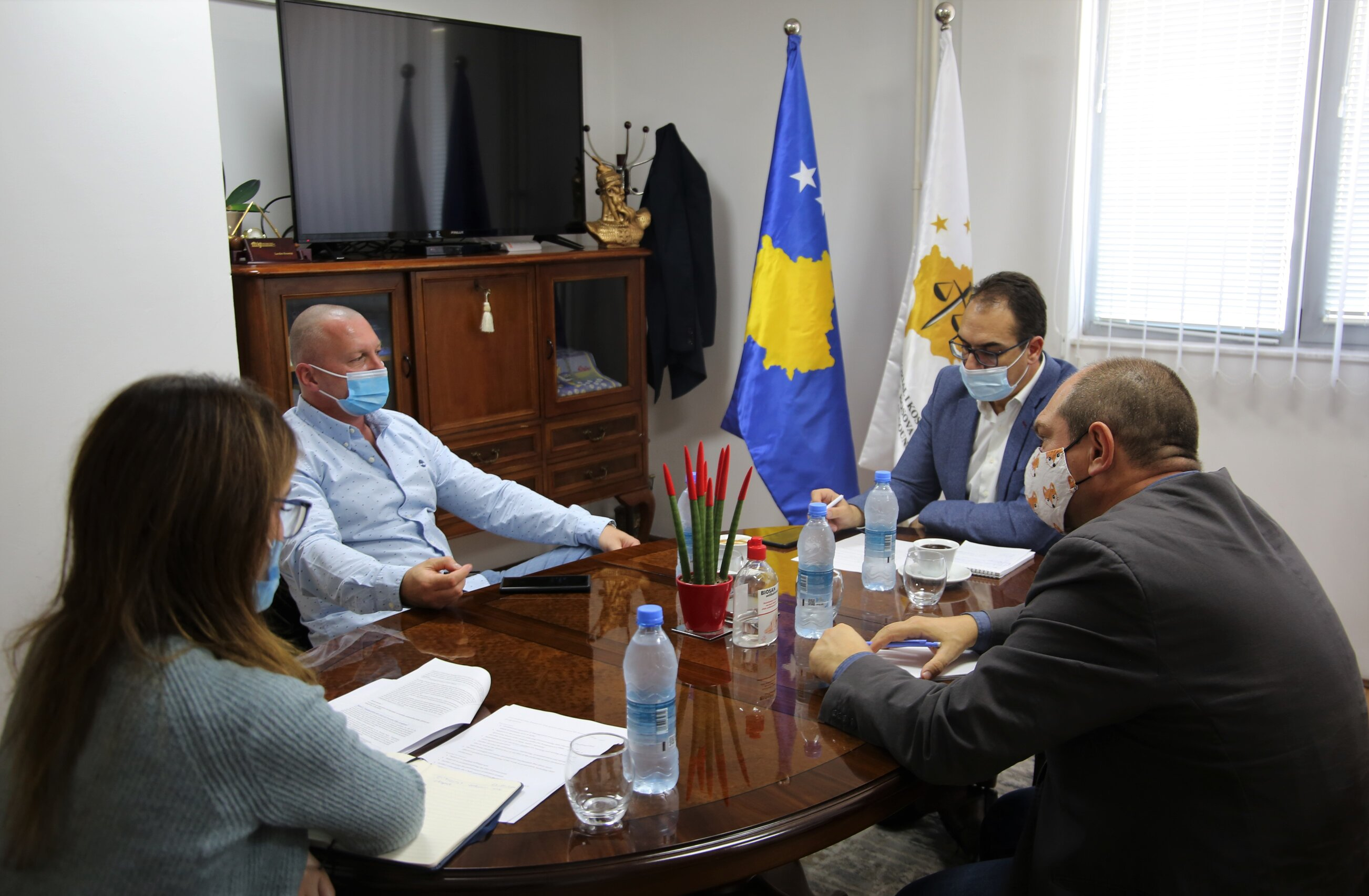 The beginning of the implementation of the IPA Project, a topic of discussion between the General Director of the KPSS and experts
