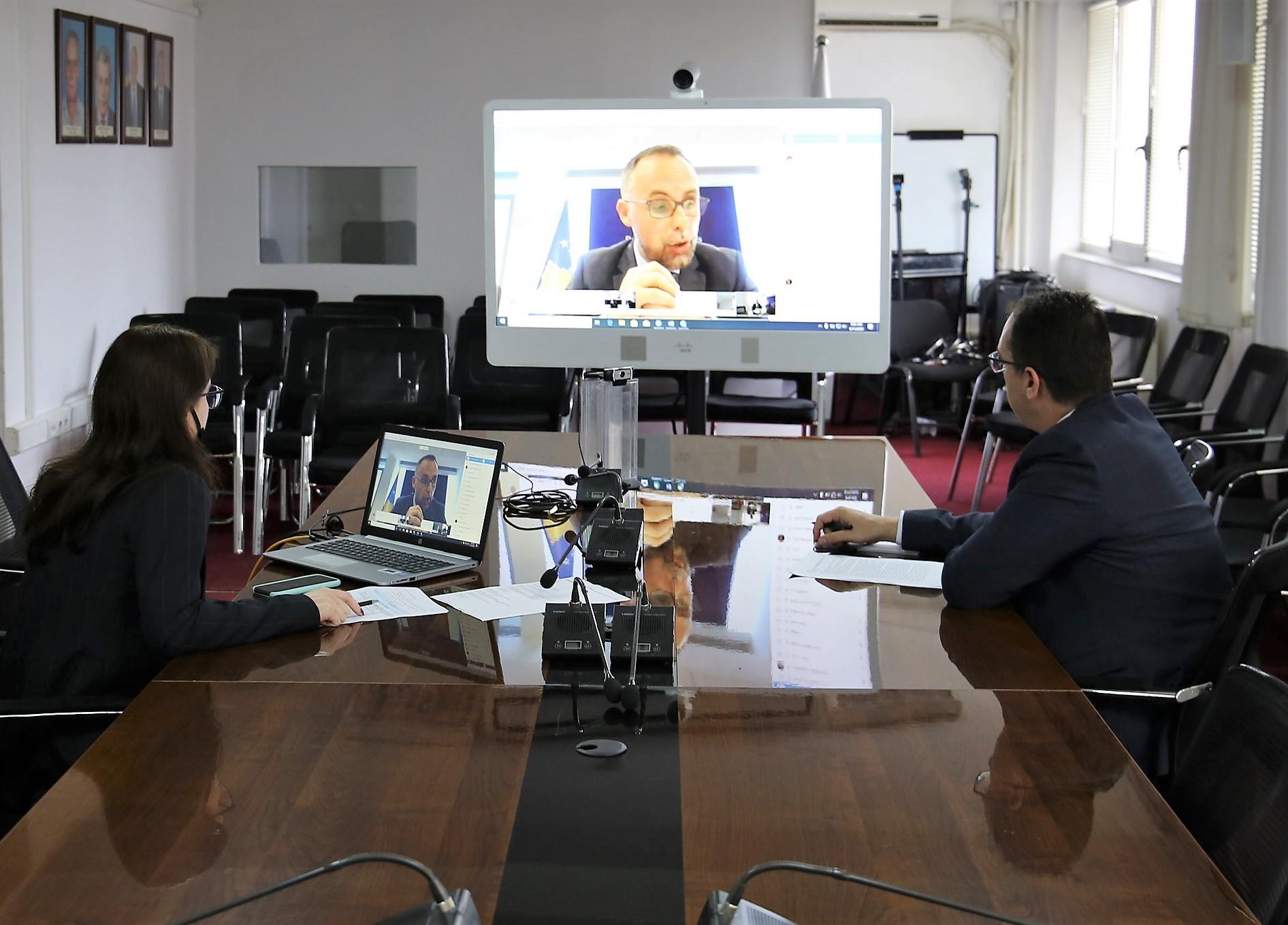 Raportohet në takimin e radhës të Nënkomitetit për Drejtësi, Liri dhe Siguri