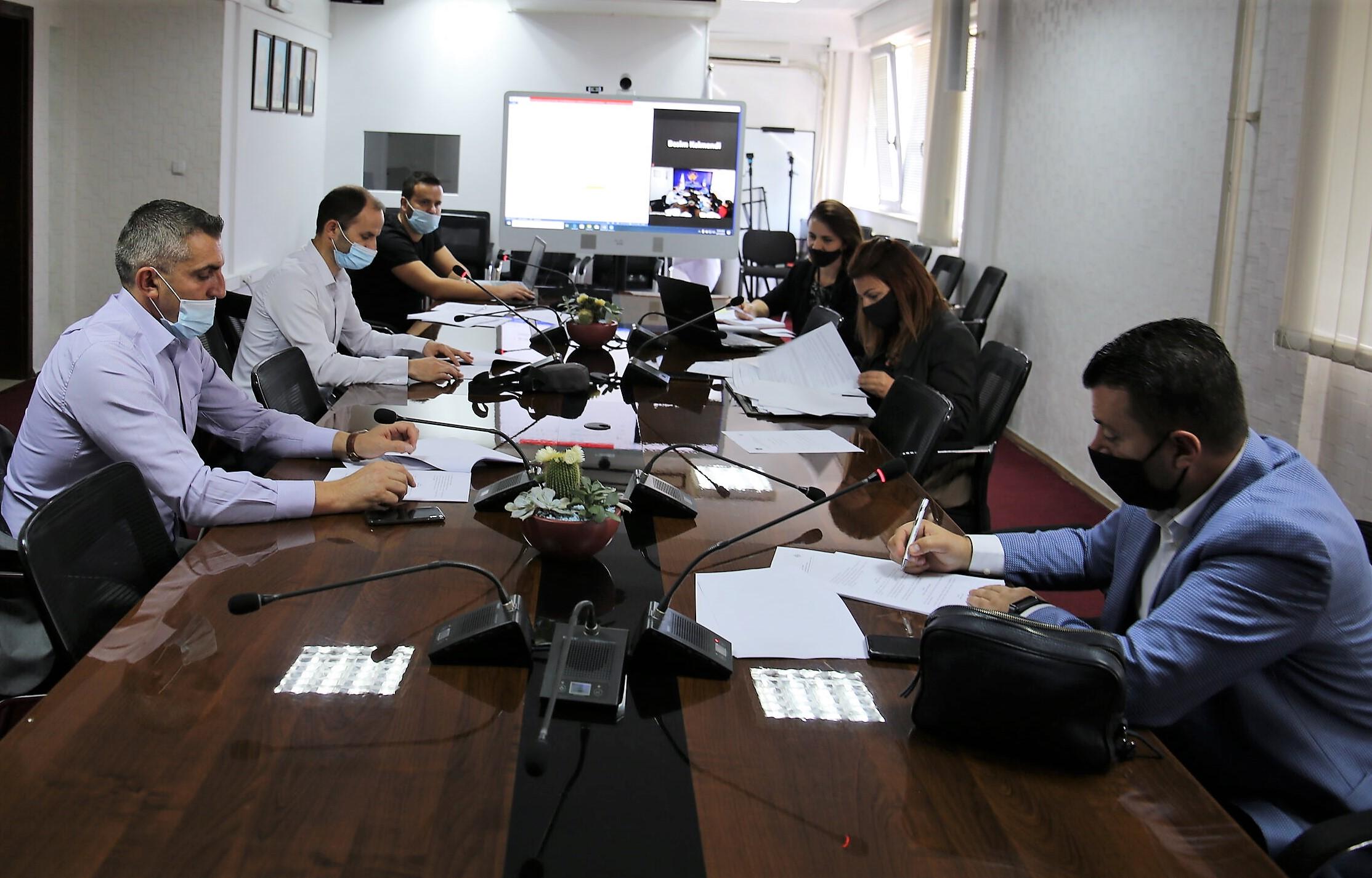 Shqyrtohet drafti iRregullores për protokollimin, administrimin dhe arkivimin e dokumenteve në KPK
