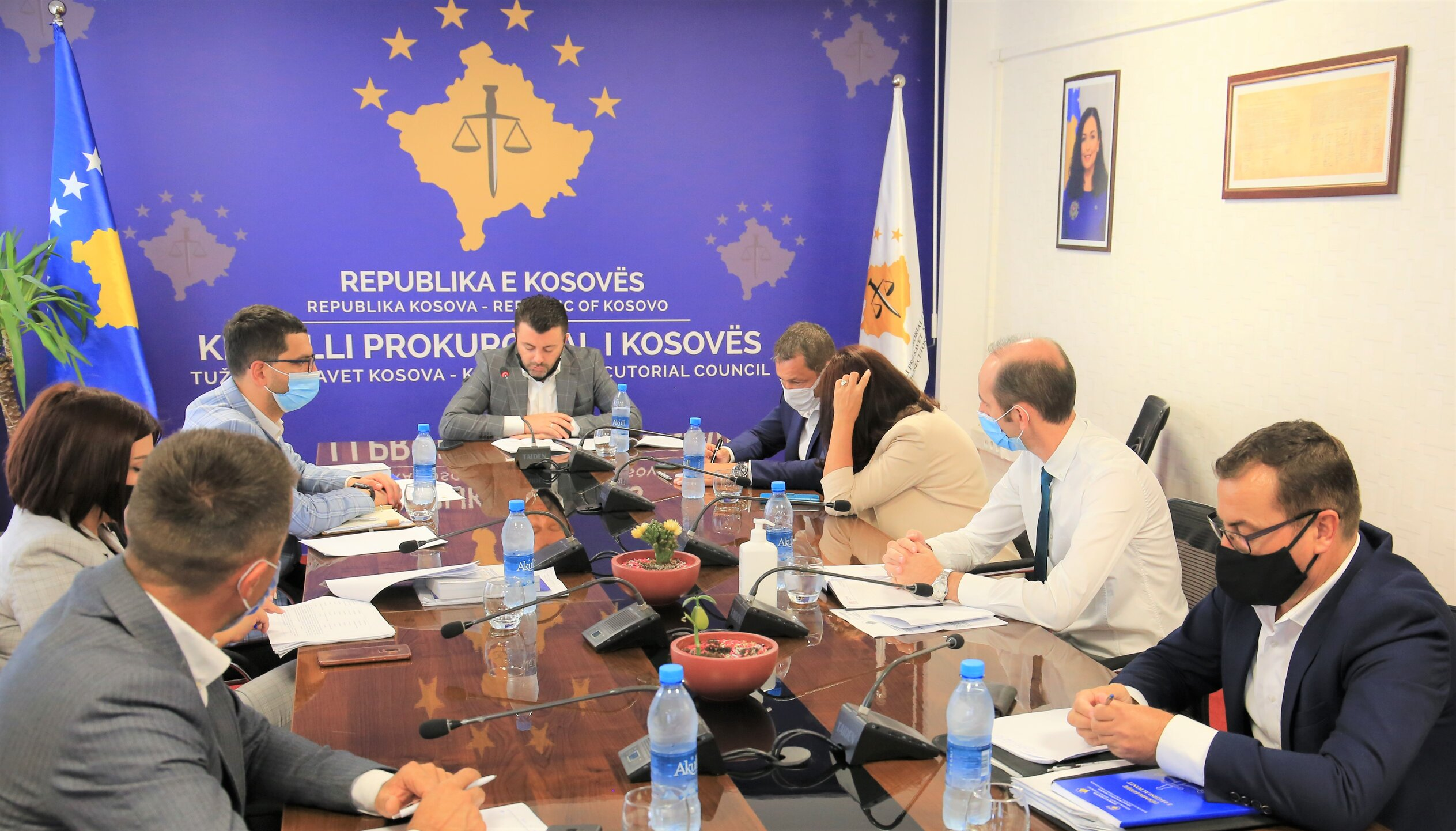 The first meeting of the Working Group for drafting the regulation for the election of the director of the KPCS and the PPRU is held